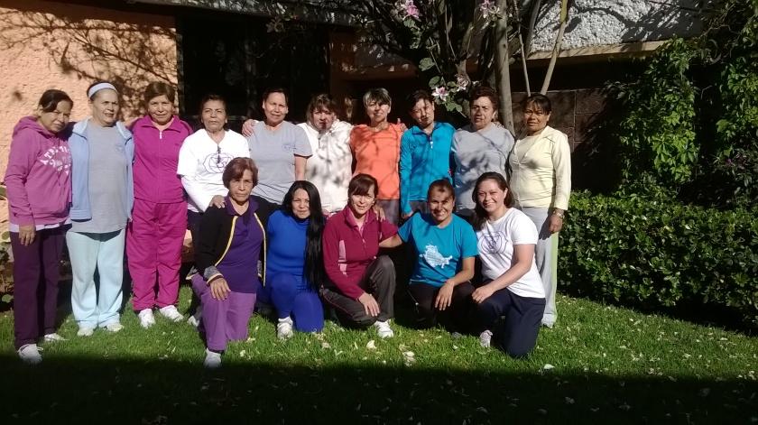 Grupo de yoga