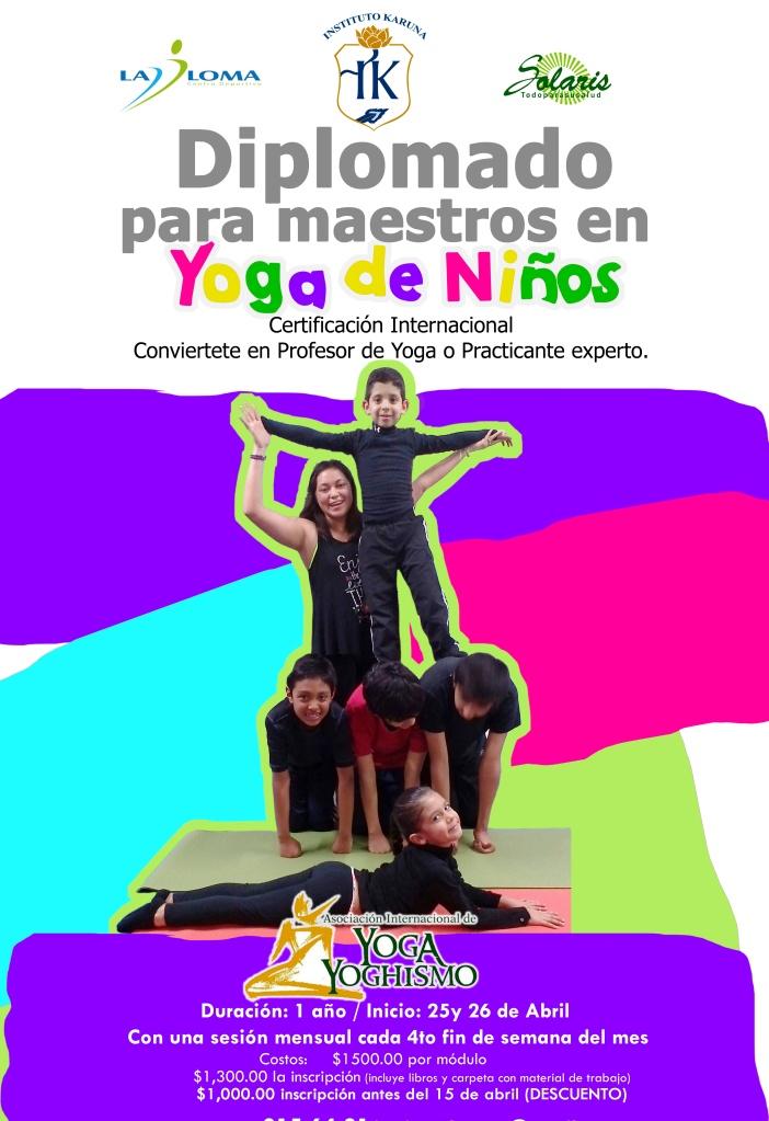 Formación de Maestros en Yoga para Niños en San Luis Potosí