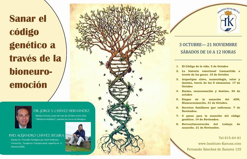 sanando código genético
