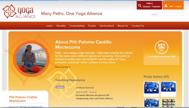 Yoga allaiance piiti